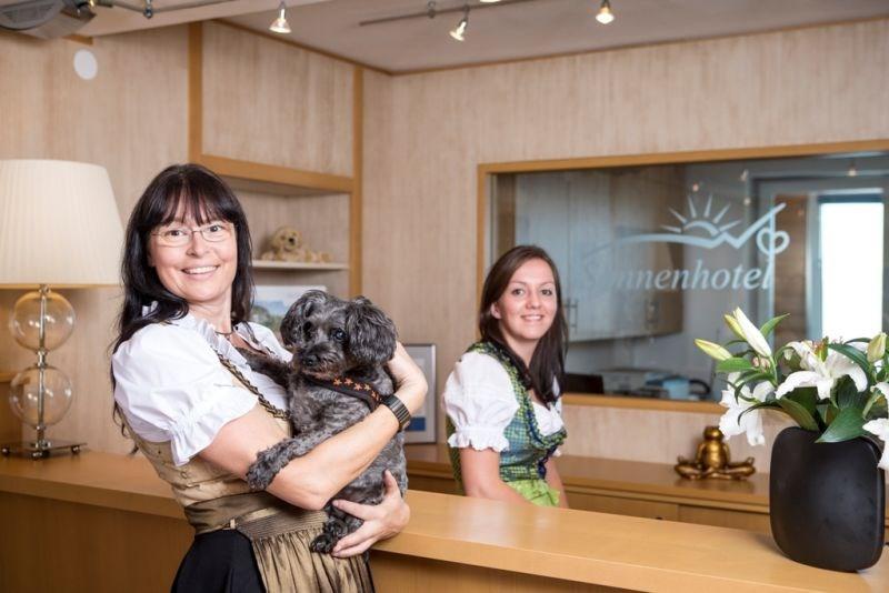 Sonnenhotel Zaubek Hotel F 252 R Den Urlaub Mit Hund In