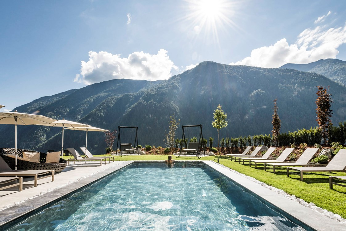 Urlaub-mit-Hund: Der Pool - Tuberis  Nature & Spa Resort