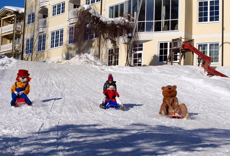 Urlaub-mit-Hund: Rodelhang direkt am Hotel - Dilly´s Wellness-Golf-Familien-Ski Resort****S