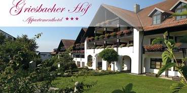 Hundehotel - WLAN - Ostbayern - Appartementhotel Griesbacher Hof